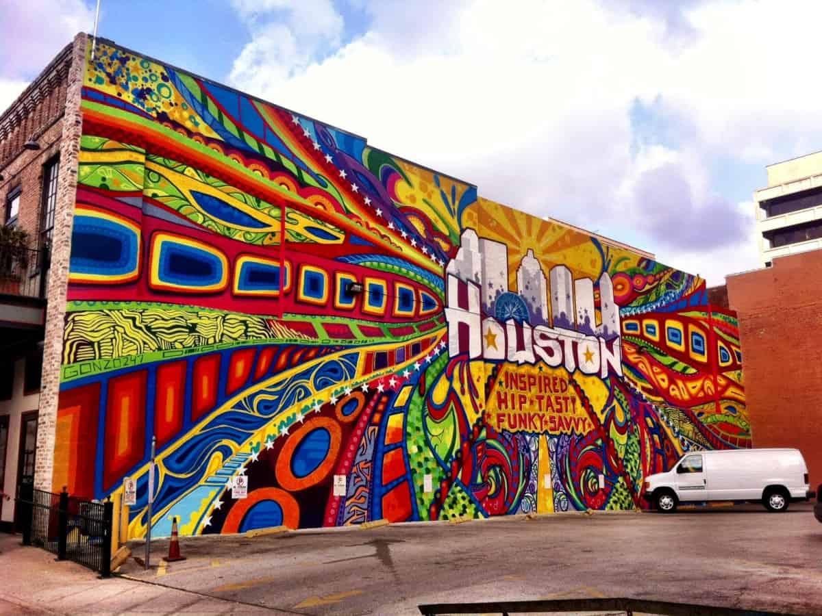 Houston-Mural